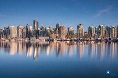 Vancouver skyline   by Ilya Korzelius