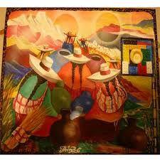 Resultado de imagen para cuadros andinos peruanos