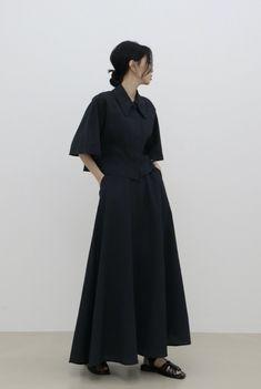 Dark Fashion, Minimal Fashion, Korean Girl Fashion, All Black Outfit, Business Fashion, Style Inspiration, Fashion Outfits, Fashion Design, Ootd