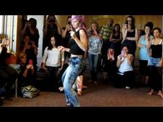 SARA LOPEZ: lady style kizomba workshop . 2013 - YouTube