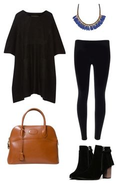 """""""Untitled #56"""" by kerrie-gregory on Polyvore featuring Roni Kantor, The Elder Statesman and Hermès"""