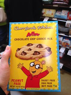 Egg-free chocolate chip cookie mix!