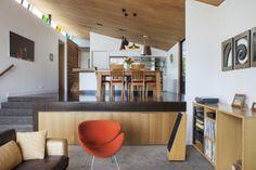 A zinc-clad house