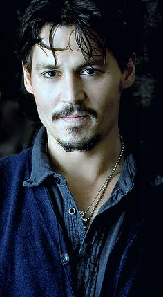 Johnny Depp, male actor, cute, steaming hot, beard, powerful eyes, versatile, movie star, celeb, portrait, photo