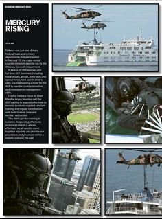 Counter-terrorism exercise. Published in issue #8, December 2005