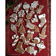 Gingerbread Ornaments…