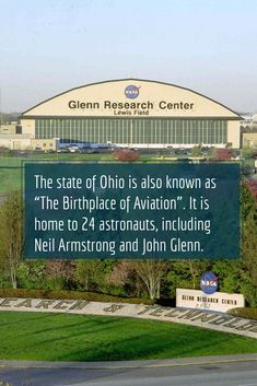 """Here's an amazing history trivia: the state of Ohio is also known as """"The Birthplace of Aviation"""". It is home to 24 astronauts, including Neil Armstrong and John Glenn. What Is Apple, John Glenn, Apple Valley, Neil Armstrong, Astronauts, History Facts, Trivia, Nasa, Ohio"""
