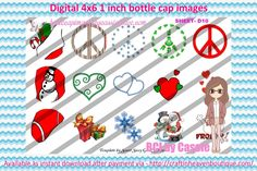 1' Bottle caps (4x6) 3 part ornaments D10 Christmas  3 Part BottleCap Ornaments Image #3partOrnaments  #bottlecap #BCI #shrinkydinkimages #bowcenters #hairbows #bowmaking #ironon #printables #printyourself #digitaltransfer #doityourself #transfer #ribbongraphics #ribbon #shirtprint #tshirt #digitalart #diy #digital #graphicdesign please purchase via link  http://craftinheavenboutique.com/index.php?main_page=index&cPath=323_533_42_114
