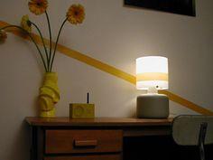 ligne jaune vintage Lighting, Architecture, Vintage, Home Decor, Yellow, Arquitetura, Light Fixtures, Lights, Vintage Comics