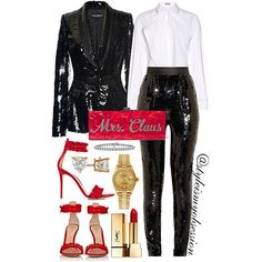 Mrs. Claus  Click link in bio to shop the look and outfit details.  #Lotd #ootd #style #fashion #fashiondaily #instalike #instadaily #instastyle #instafashion #styleinspiration #styleismyobsession #EdieParker #SaintLaurent #GianvitoRossi #DolceGabbana #Holidays                                                                                                                                                                                                                                                                                                                                                                                                                                                                                                                                                             instagram.com