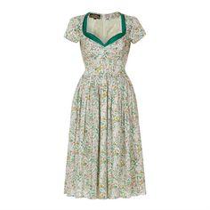 annie dress in giardini print silk cotton by nancy mac | notonthehighstreet.com