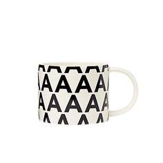 initial mug ::  Kate Spade Saturday