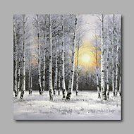 Peint+à+la+main+Paysage+/+A+fleurs/Botanique+/+Paysages+AbstraitsModern+Un+Panneau+Toile+Peinture+à+l'huile+Hang-peint+For+Décoration+–+EUR+€+221.46