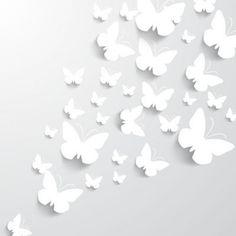 Schmetterlinge Als Hintergrund einen Keilrahmen oder in einem 3D-Rahmen