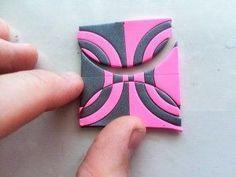 Jana Honnerová's Mirrored Bracelet ~ step by step ~ Polymer Clay Tutorials