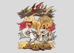 """""""A King in Every Corner"""" - Threadless.com - Best t-shirts in the world"""