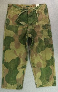 Belgian Army ABL Denison Style Camo Pants Uniform Congo War Paratrooper Rare! Military Pants, Military Camouflage, Army Camo, Military Clothing, Unisex Fashion, Mens Fashion, Army Tent, Camo Shirts, Camo Baby Stuff