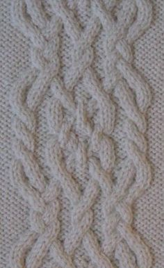 by Annie Maloney  A selection of unique cable stitches, to add an original quality to your knitting projects. Distinctive details include various knots and plaits, very open patterning, out-of-th…