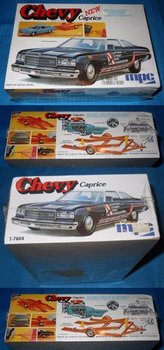 Vintage 2585: Vintage Mpc Chevy New Caprice Trailer 1-7604 1 25 Scale Kit -Model Car Swap Meet -> BUY IT NOW ONLY: $169.99 on eBay!