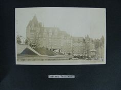 Offered @ Auction: June 4, 2017 @www.Rare-Era.com. Contact: info@Rare-Era.com. Part of a group of c.1919 photo albums including an image of the Chateau Frontenac, Quebec, Canada and other Quebec images.