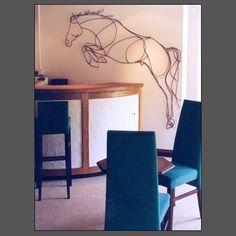 HORSE ART by Amy Goodman, sculptor & portrait artist, www.amygoodman.co.uk Sculpture Ideas, Horse Sculpture, Awesome Art, Cool Art, Chicken Wire Sculpture, Wire Sculptures, Horse Crafts, Horses For Sale, Ap Art