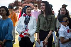 IN PHOTOS: How Canada Day 2019 was celebrated from coast to coast John Tory, Centennial Park, Patriotic Outfit, Woman Smile, Justin Trudeau, Canada Day, Montreal, Windbreaker, Coast