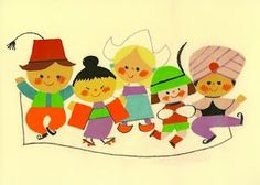 It's A Small World - Mary Blair