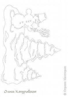 Интерьер Картина панно рисунок Книга Новый год Рождество Вырезание Всё новое - это хорошо   отредактированное старое -   шаблоны Бумага фото...