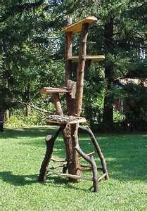 Image Detail for - Natural Tree Furniture - Rustic Cat Trees
