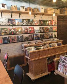 Hi-Fi Record Shop in Astoria, New York.