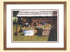 Pumphouse Pansies~Bob Timberlake~ I had this one back home in NC