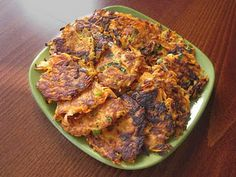 Tasty Carrot Patties, could be really great.