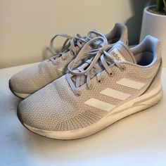 Shop Women's adidas Cream Tan size 8 Athletic Shoes at a discounted price at Poshmark. Description: Cream/Tan Worn a few times.