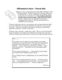 16 Best Confirmation letter images | Catholic, Confirmation letter