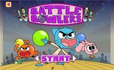 Battle Bowlers,Ação jogos,k7x.com,jogos online grátis
