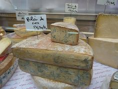 Bleu de Gex at the Market #France