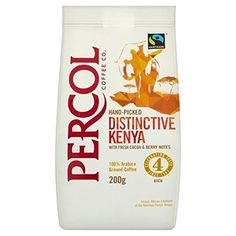 Percol Fairtrade Distinctive Kenya Ground Coffee 200g  Pack of 6 ** Find out more about the great product at the image link.