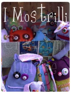 puppets handmade by Irene Del Re