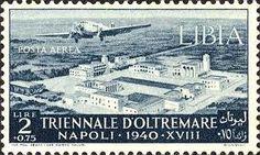 Resultado de imagen para francobollo libia 1940