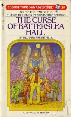 """The Curse Of Batterslea Hall""  ***  Richard Brightfield  (1984)"