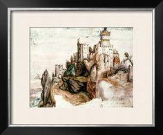 Fortified Castle Giclee Print by Albrecht Dürer - AllPosters.ca