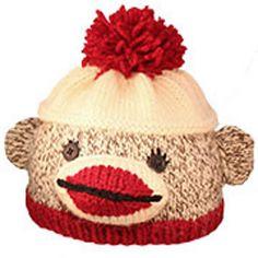 ee87725b5f6 Ravelry  Sock Monkey Hat (newborn to child sizes) pattern by Donna Sires  Baby
