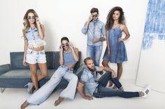 New Campaign Spring Summer 17 Club Denim #welovedenim #squad #alldenim #denimheart