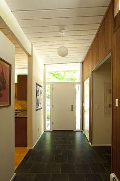 32. Small 1950s Eichler Expansion - modern - entry - san francisco - Klopf Architecture