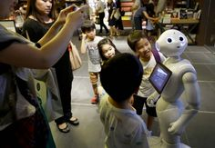 """IBM Watson computing technology learns Japanese: """"IBM Watson is working with Softbank Corp. to introduce its cognitive computing technology to Japan, where it might be applied to products such as Softbank's humanoid robot Pepper."""""""