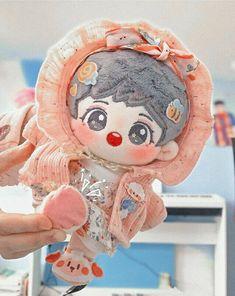 Kawaii Doll, Kawaii Plush, Kawaii Things, Cute Stuffed Animals, Cute Dolls, Handsome Boys, Plushies, Watercolor Art, Smurfs
