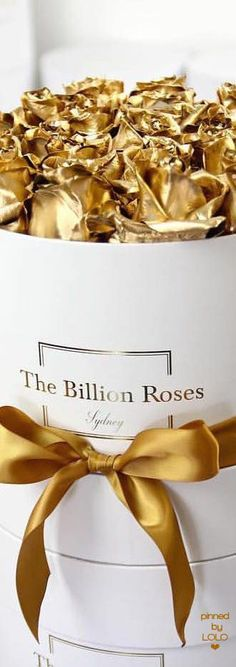 Billion roses by VoyageVisuelle by VoyageVisuel Billion Roses, Bling Bling, Ana White, White Gold, Solid Gold, Gold Everything, Blogging, Luxe Life, Luxury Beauty