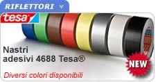 Nastro telato colorato Tesa. Buona elasticità e resistenza alla trazione, resistenza all'acqua ed alle alte temperature.  http://www.ferramentaonline.com/shop/advanced/Nastro_adesivo_colorato_Tesa__25mt_x_50mm_vedi_colori-ska198002983.html