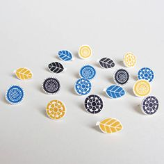 bloom earrings by lovely pigeon | notonthehighstreet.com