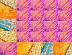 """'Stoffdesign """"Barkuh rocks (16a)""""' von Rudolf Büttner bei artflakes.com als Poster oder Kunstdruck $18.71"""